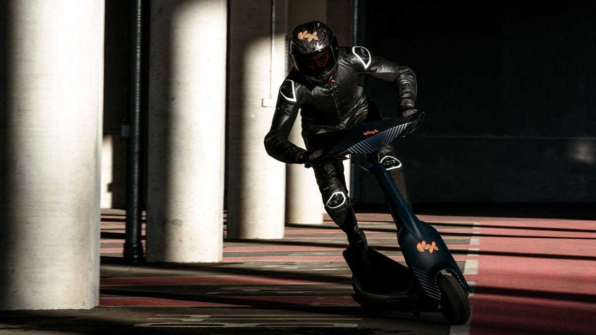 I Can't Wait To Watch Electric Scooters Race At 60 MPH