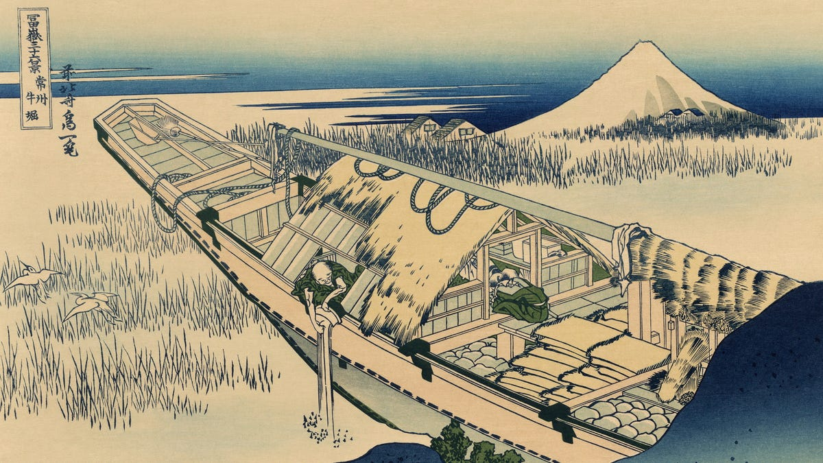 In 1803, Japan had an encounter with an unidentified floating object