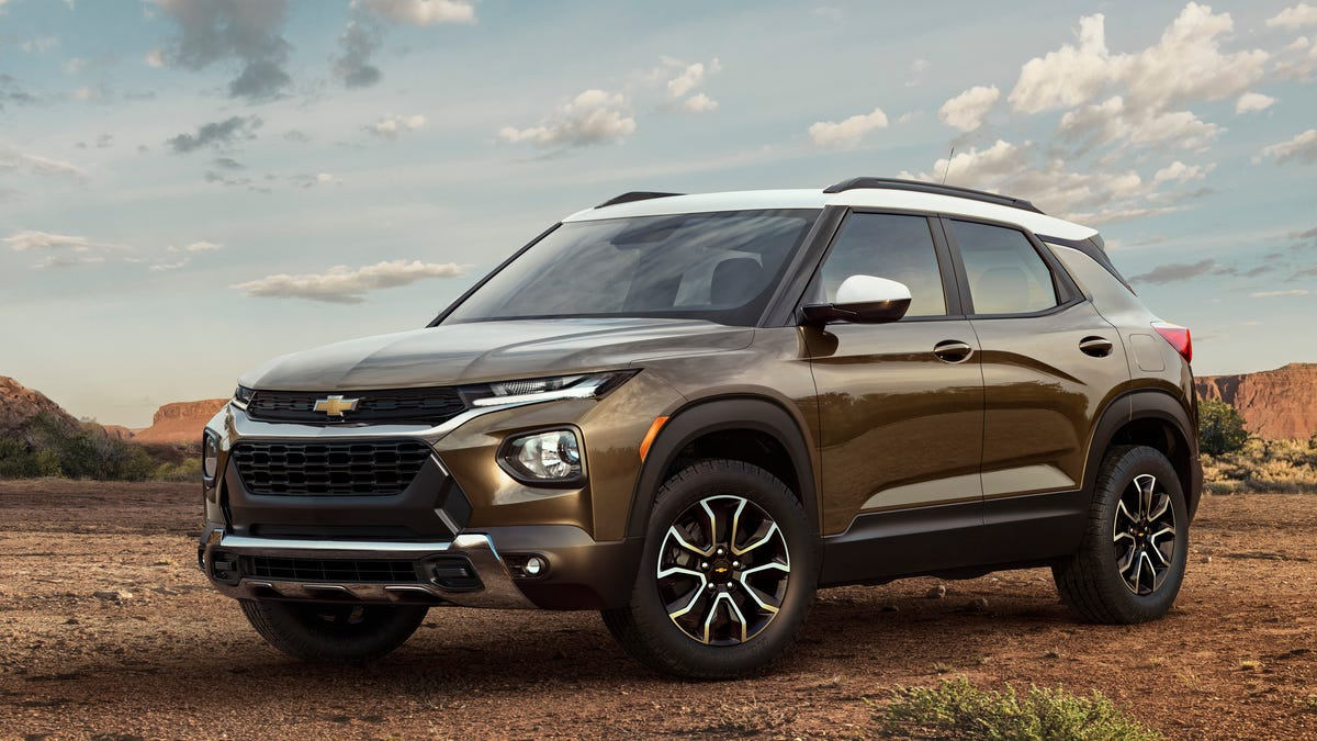 The 2021 Chevrolet Trailblazer Is Bigger Than A Trax But