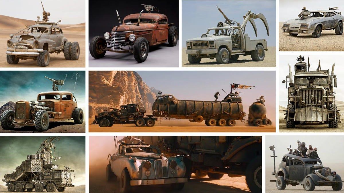 Dreizehn epische Autos aus Mad Max: Fury Road sind zu verkaufen€