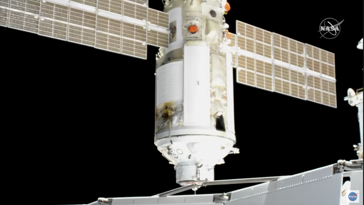 Russian Module Unexpectedly Fires Thrusters After Docking to ISS