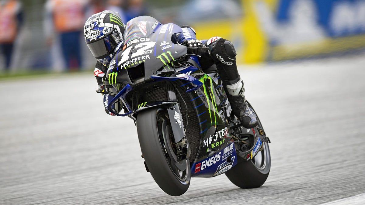 Ein MotoGP-Team beschuldigte gerade einen Fahrer, sein eigenes Motorrad in die Luft jagen zu wollen