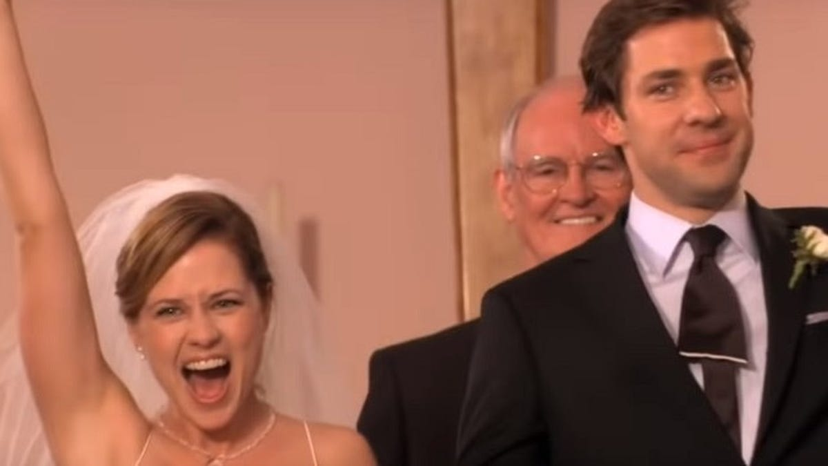 The Office's Niagara wedding nearly ended with a grand gesture and a dead horse