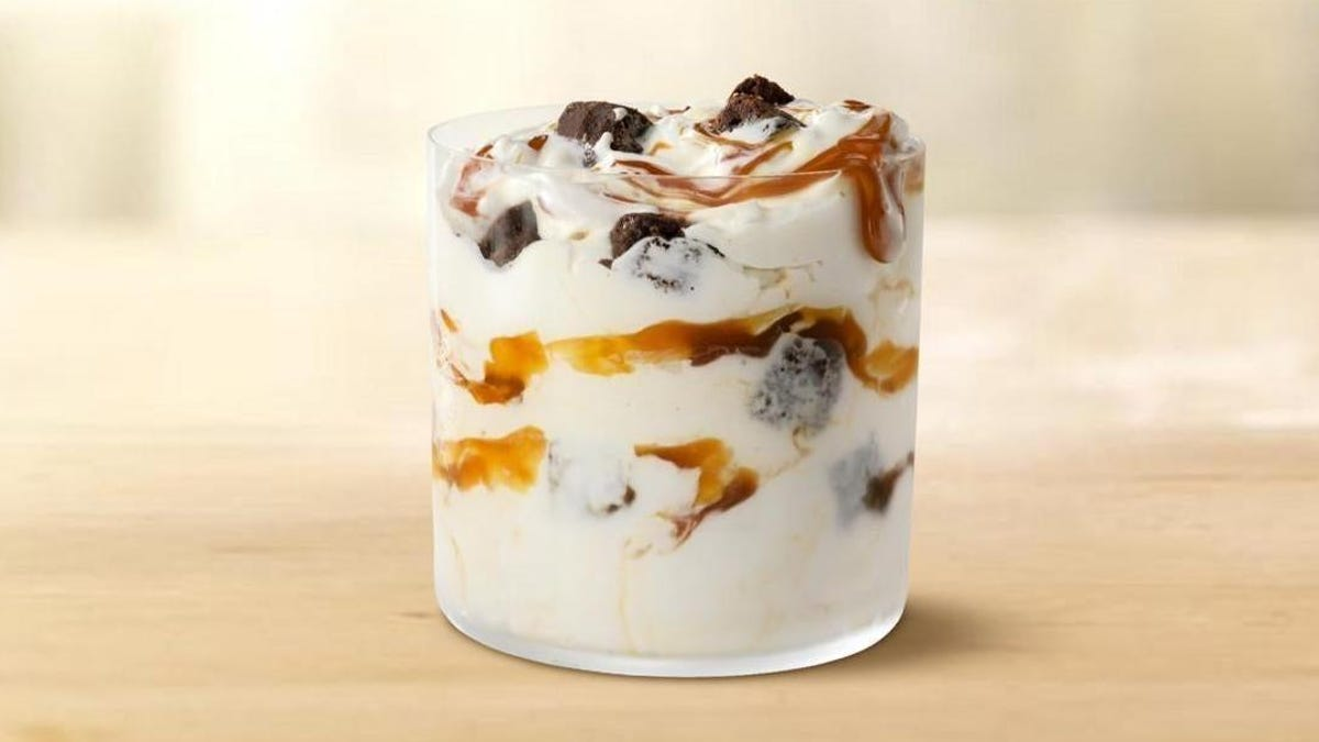 McDonald's new Caramel Brownie McFlurry will do in a pinch