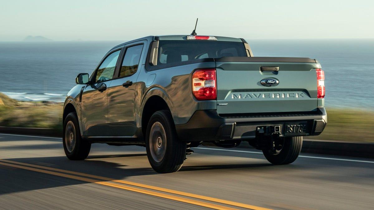 Ford wird nach Angaben eines Händlers keinen Hybrid-Maverick auf Lager haben