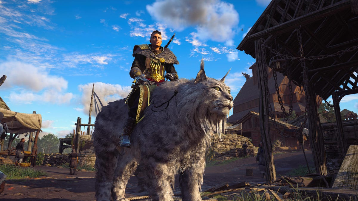 No, I Won't Ride The Giant Cat In The New Assassin's Creed DLC
