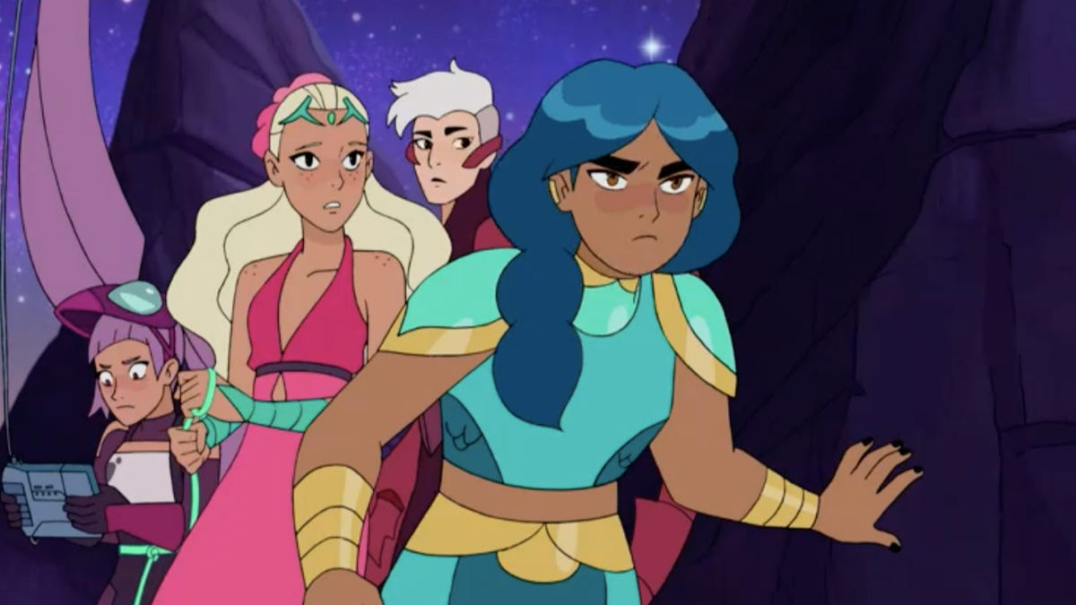 A stealth mission goes wrong—then right—in this She-Ra And The Princesses Of Power exclusive clip