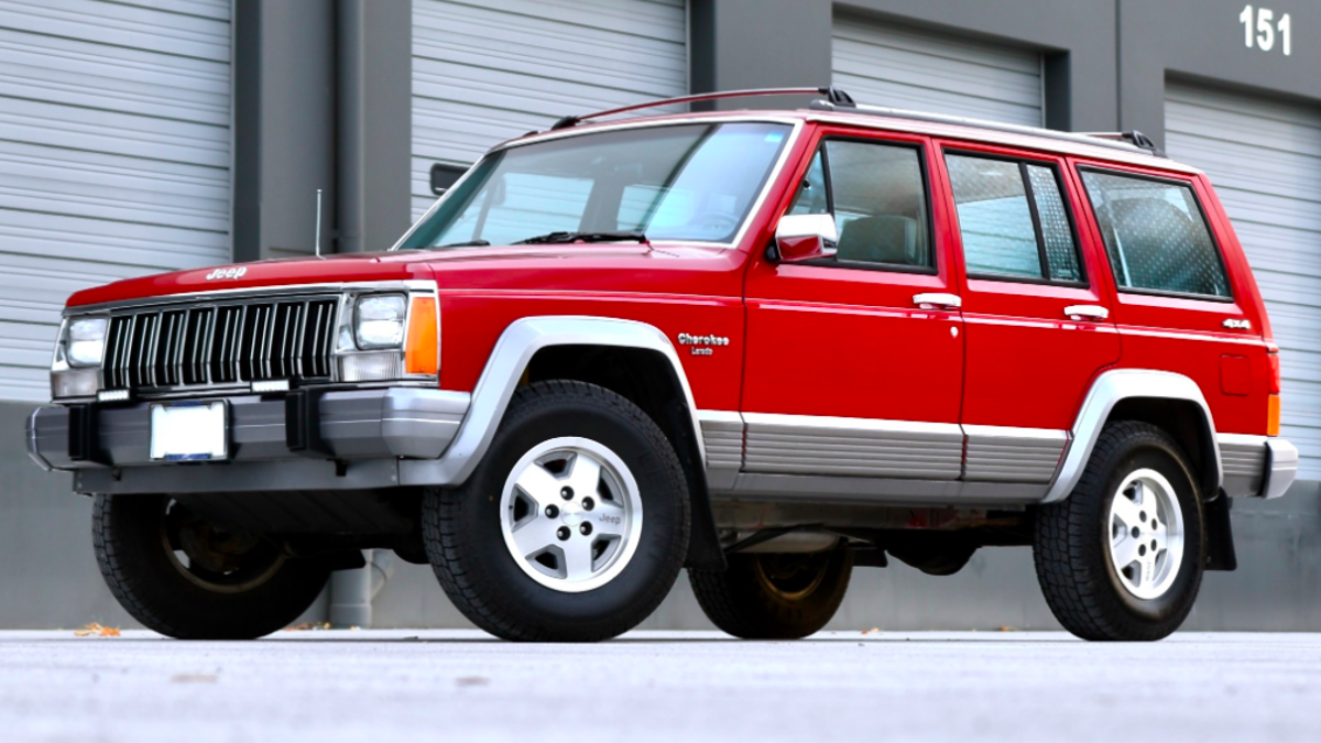 The Perfect Jeep Cherokee Xj Has Sold For 16 250