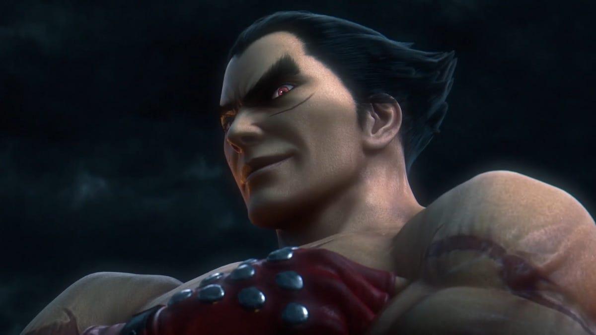 Super Smash Bros. Gets Tekken's Kazuya