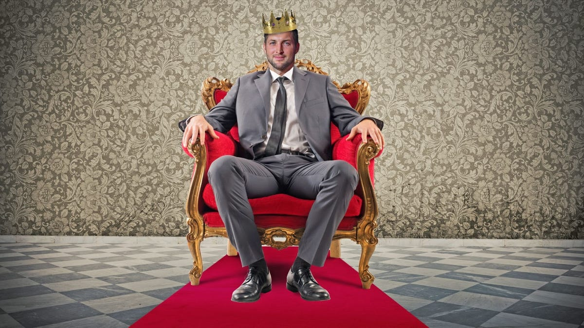 Tim Tebow is white privilege royalty