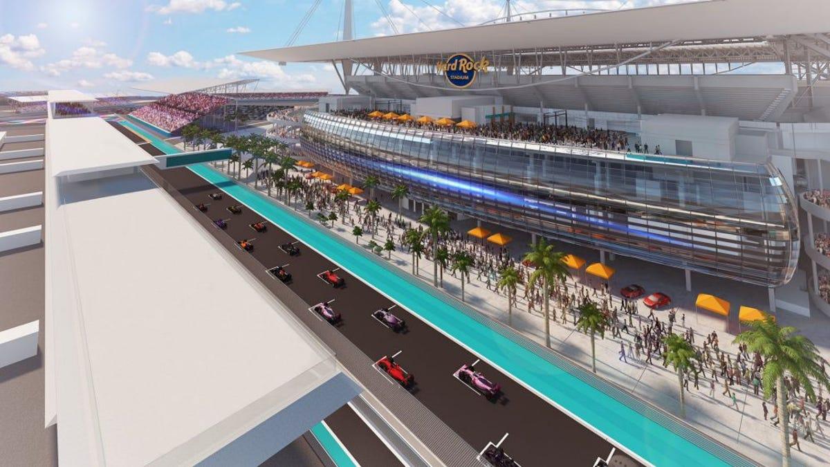 Der erste F1-Grand Prix in Miami ist für Mai 2022 geplant