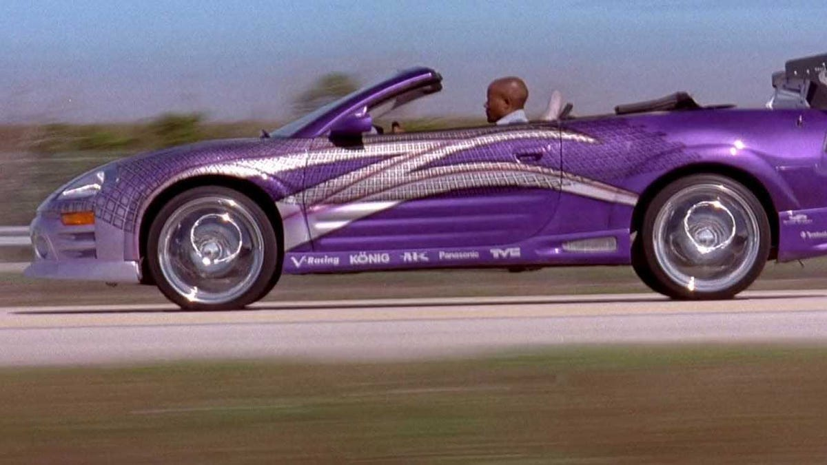 The Mitsubishi Eclipse Spyder From 2 Fast 2 Furious Has A