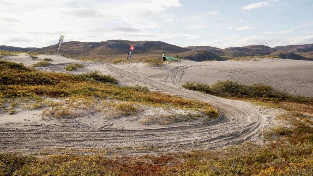 Touring Extreme E's Arctic X Prix Strecke€