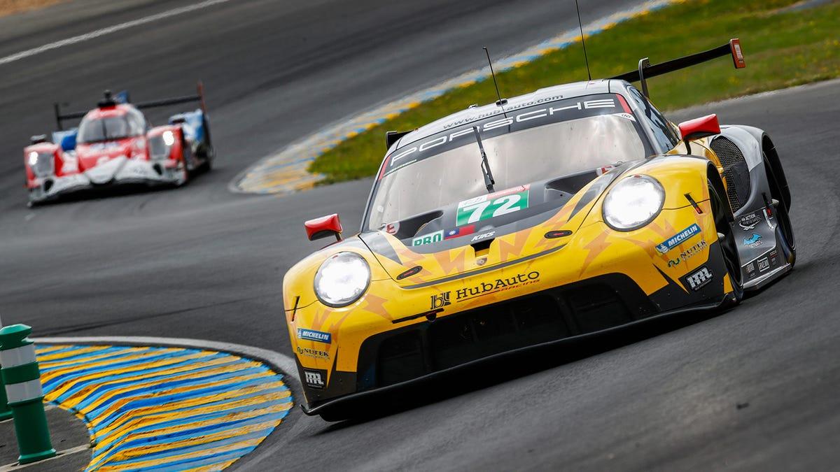 Ein Privatteam hat Porsche, Ferrari und Corvette die Pole Position in Le Mans GTE abgenommen