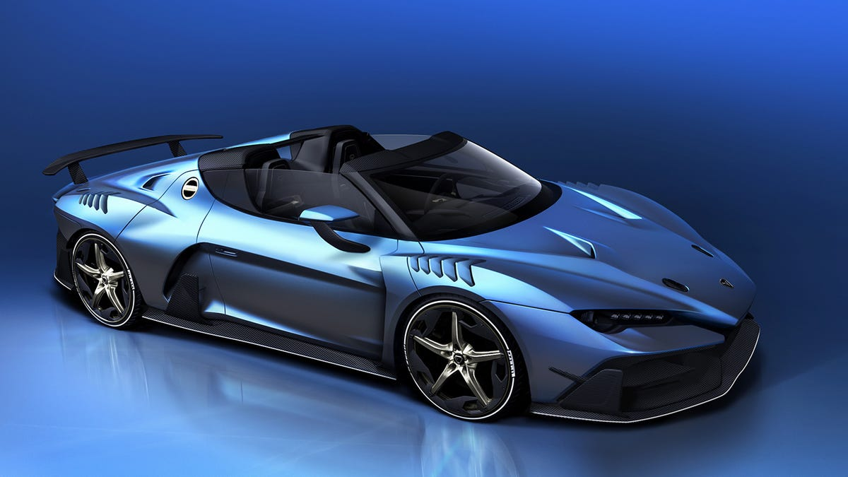 Italdesign Is Back With A Ridiculous $2 Million Roadster
