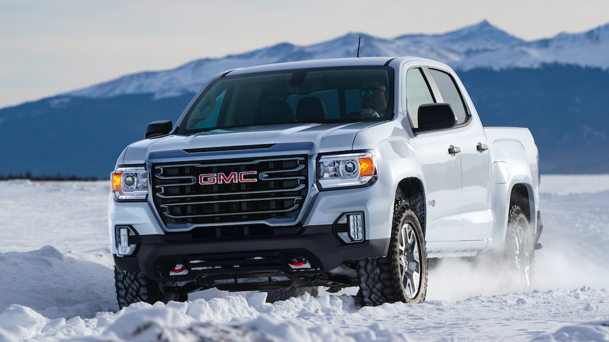 The 2021 GMC Canyon Gets A New AT4 Off-Road Trim And The ...