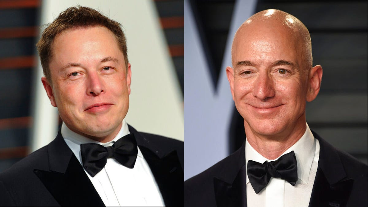 Musk and Bezos Scrap Over Who Gets to Be Space King