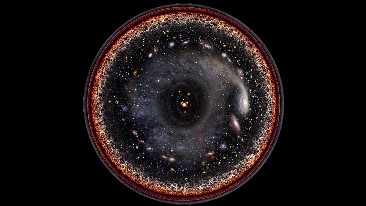 This Is The Most Detailed Map Of The Universe To Date