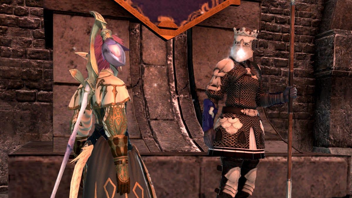 I Hope This Final Fantasy XIV NPC Finally Got To Take A Dump