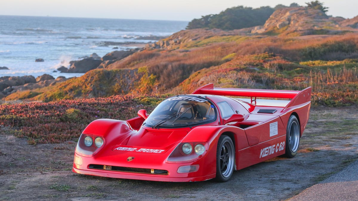The Highway Is Your Le Mans With This Rare Road Legal Porsche 962 Koenig Specials C62