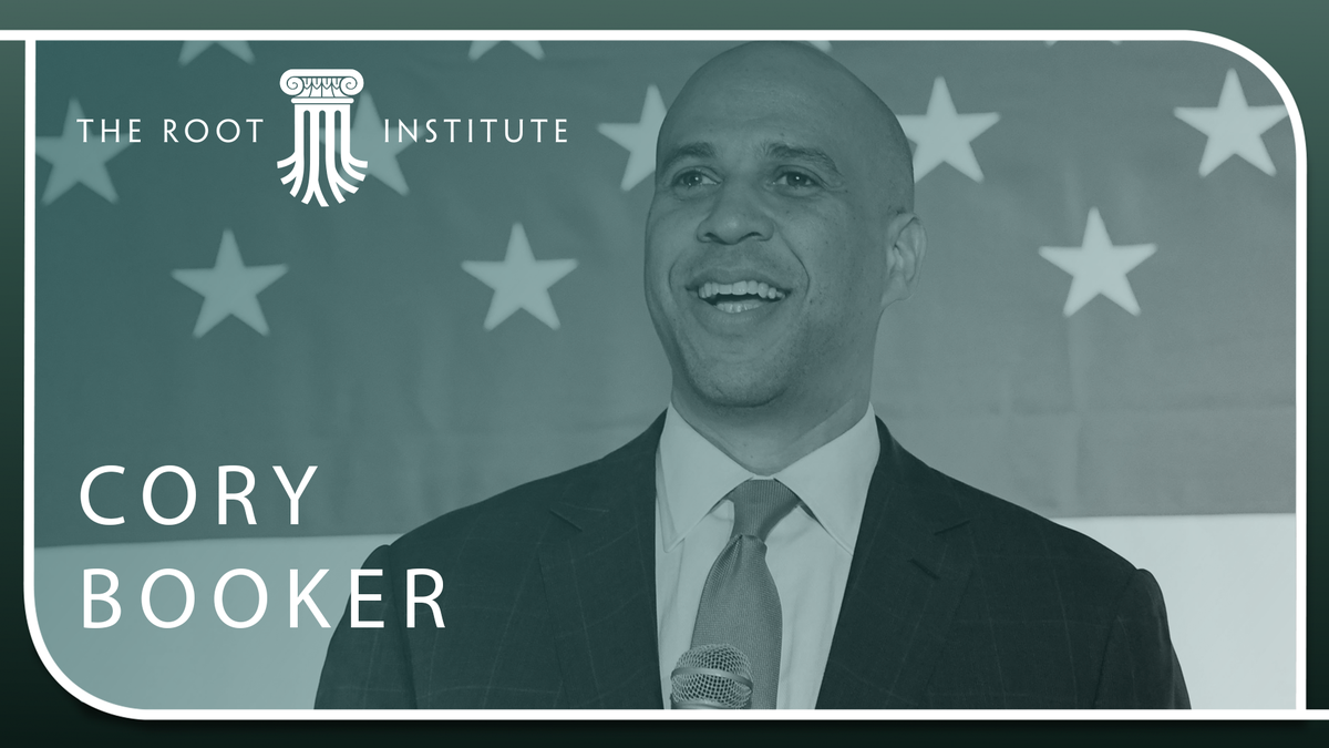 'We Have Got to Make Sure We Are Flexing, Showing Our Power': Cory Booker Gets Political About Wealth Building in a Crisis at The Root Institute
