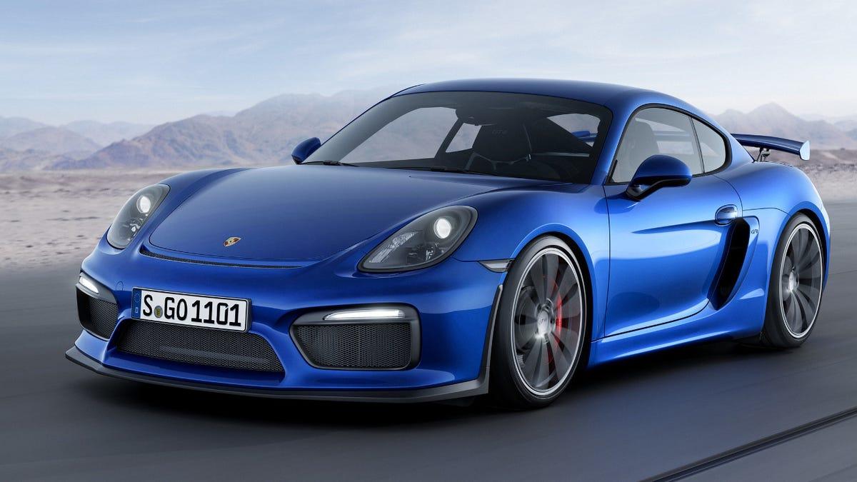 Porsche Will Build A Cayman GT4 Race Car