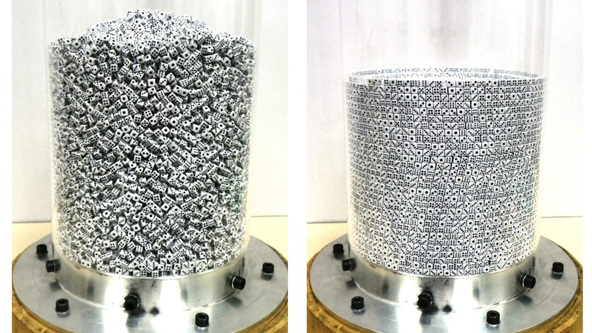 The Secret to Sorting 25,000 Jumbled Dice Involves Some Surprisingly Simple Physics
