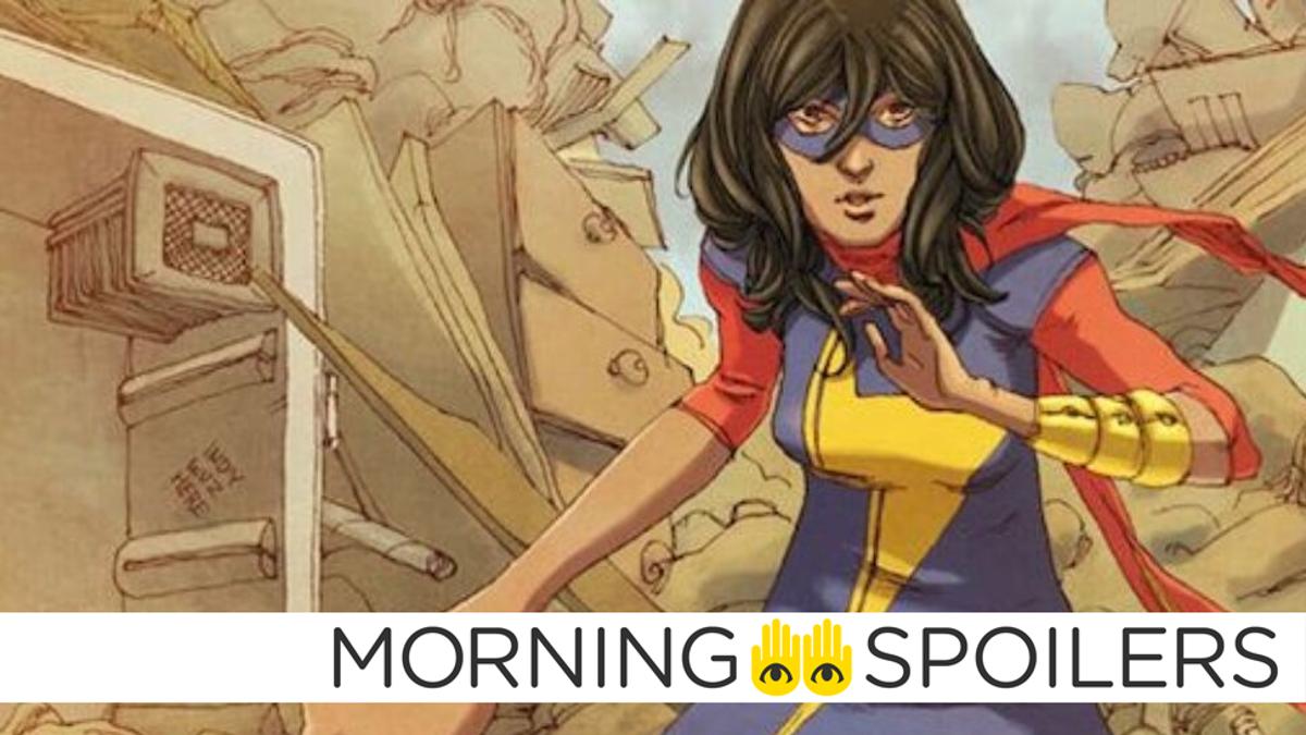 New Ms. Marvel Set Pictures Tease Kamala's Heroic Costume