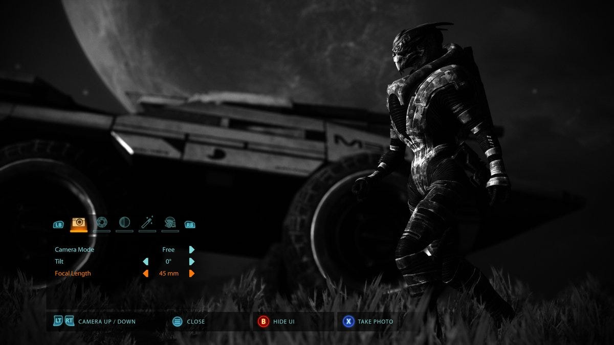 Mass Effect Legendary Edition Will Have Photo Mode