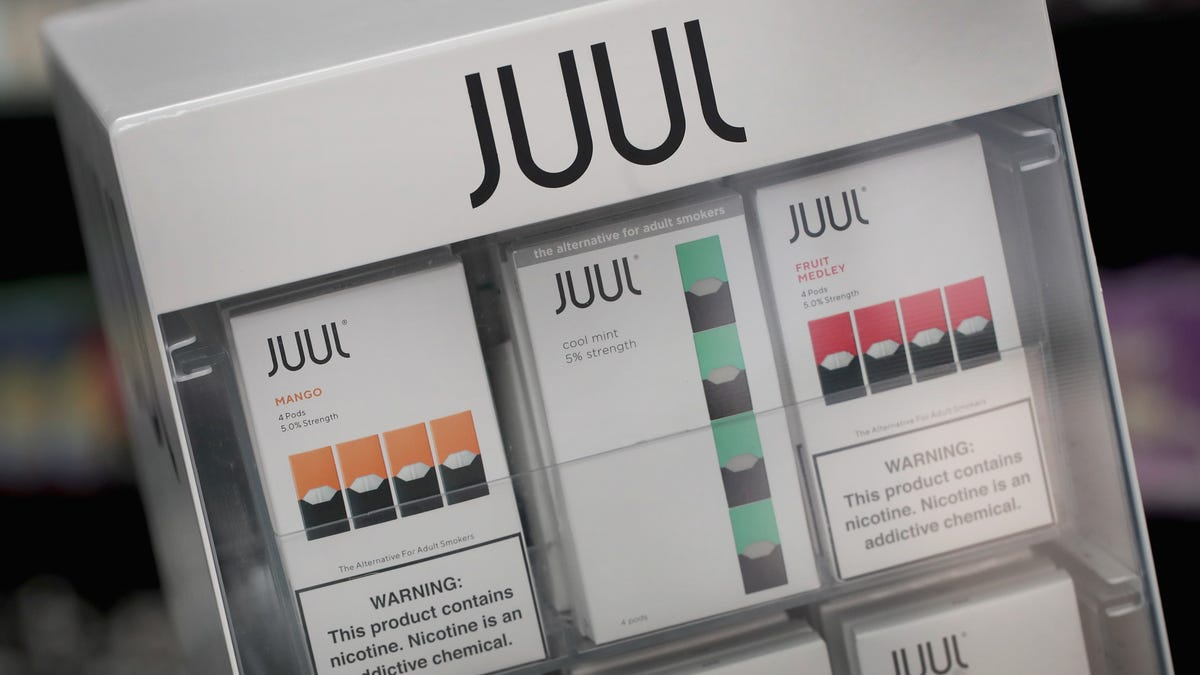 Juul Is Halting the Online Sale of Your Beloved Mango and Cucumber Pods