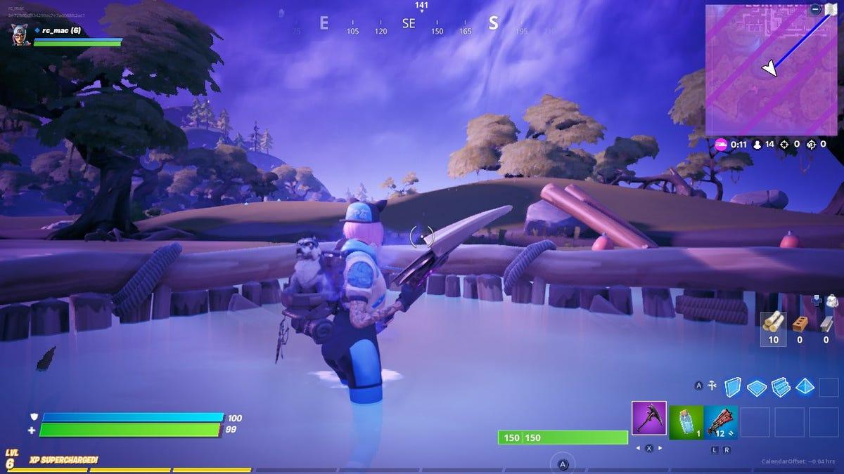 Fortnite Trick Lets You Survive The Storm