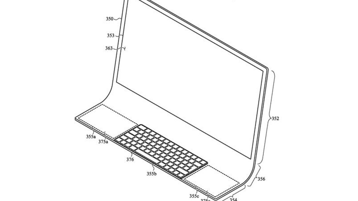 Apple estaría trabajando en un iMac de cristal con un aspecto completamente nuevo