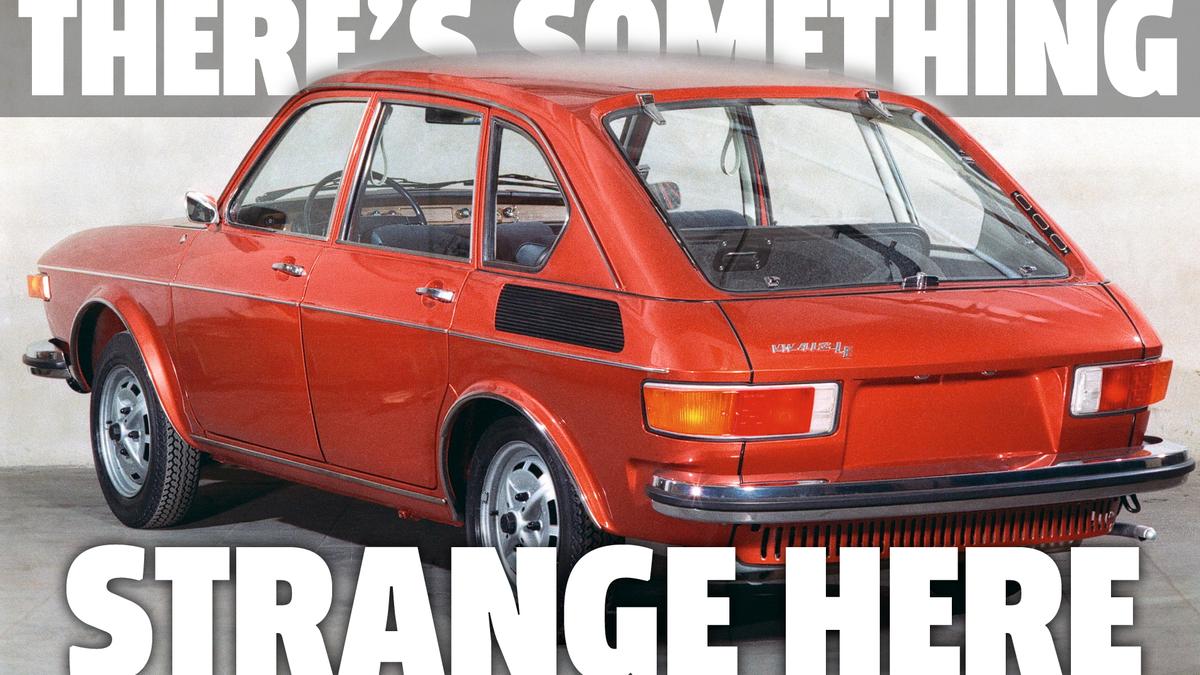 Ich glaube, ich habe ein Volkswagen-Mysterium entdeckt, das sich im Verborgenen abspielt
