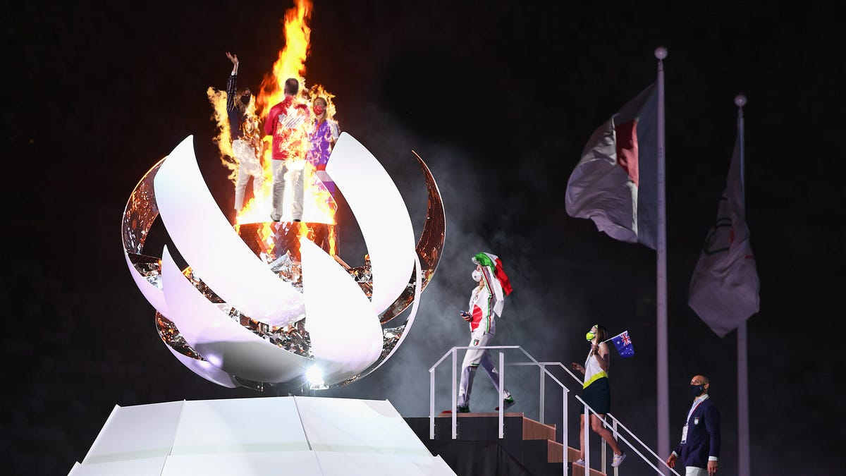 Dozens Of Athletes Incinerated After Being Attracted To Sight Of Glowing Olympic Flame - the onion