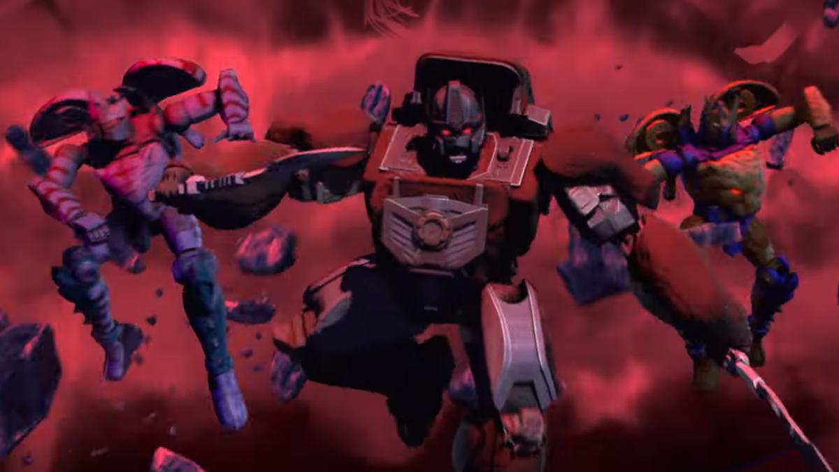 Transformers War for Cybertron Kingdom Trailer�Beast Wars Returns