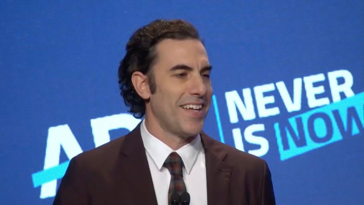 Sacha Baron Cohen Says Social Media Companies Have Created the 'Greatest Propaganda Machine in History'
