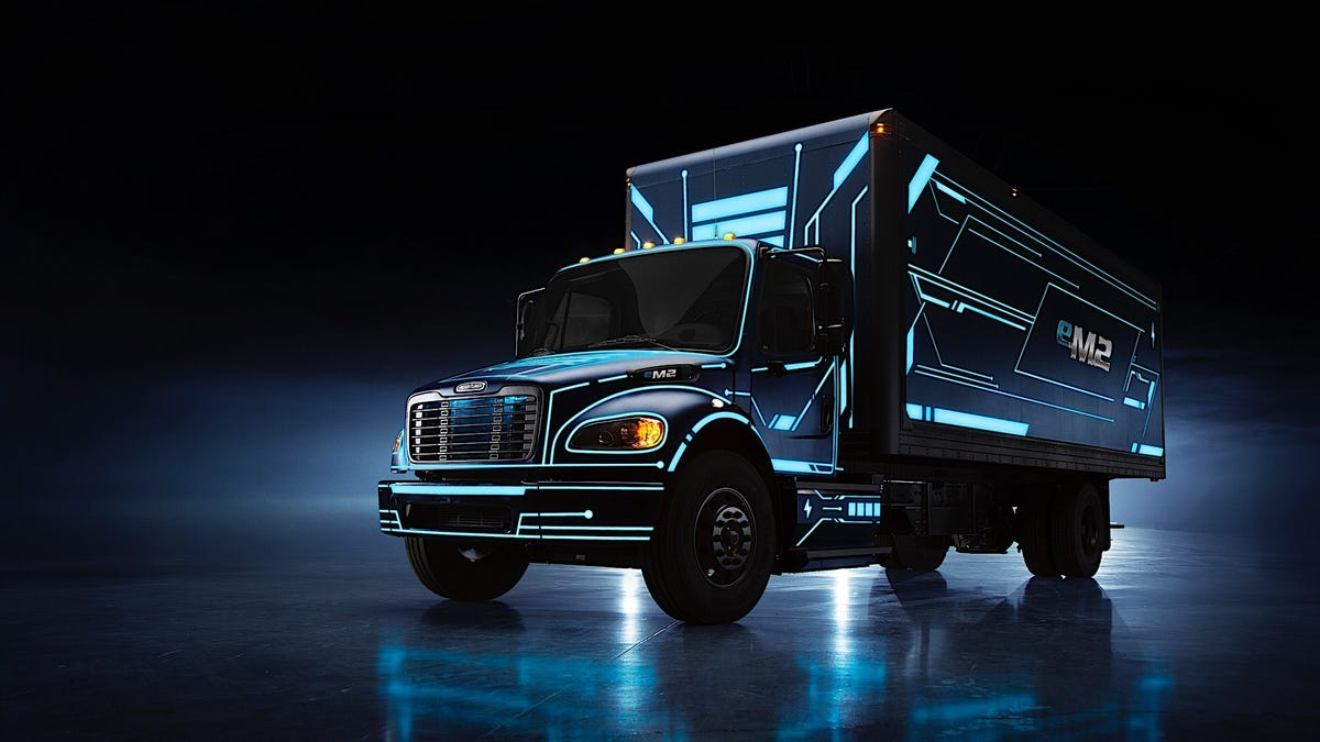 Freightliner's Electric Commercial Trucks Are Coming To An Interstate Near You