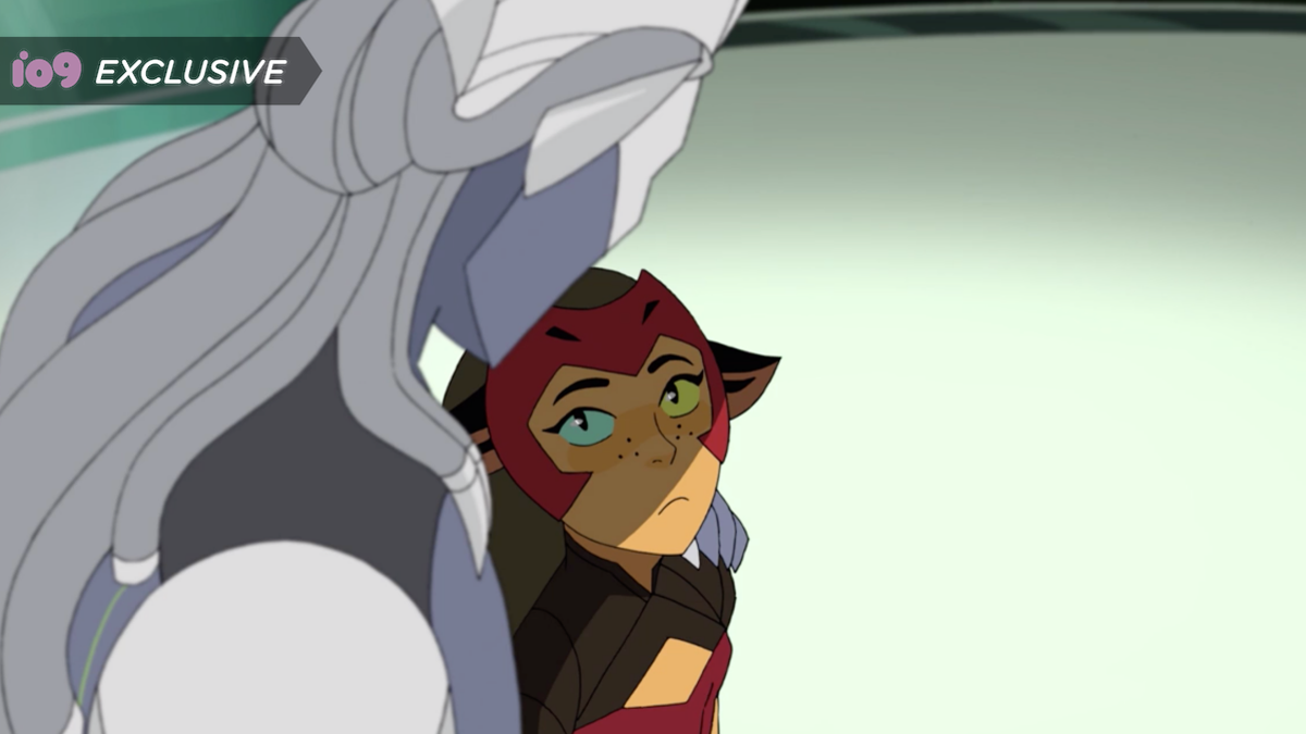 In This Exclusive She-Ra Final Season Clip, Catra's Finally Met Her Match