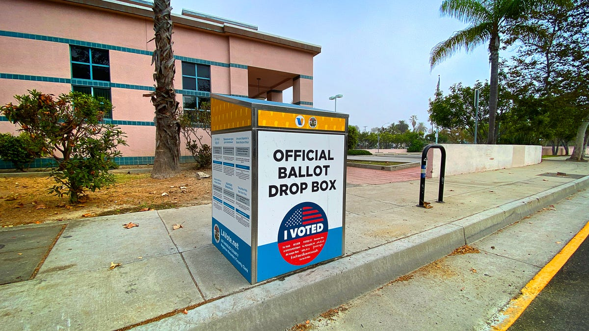 Unofficial Ballot Drop Boxes Causing Concern in California