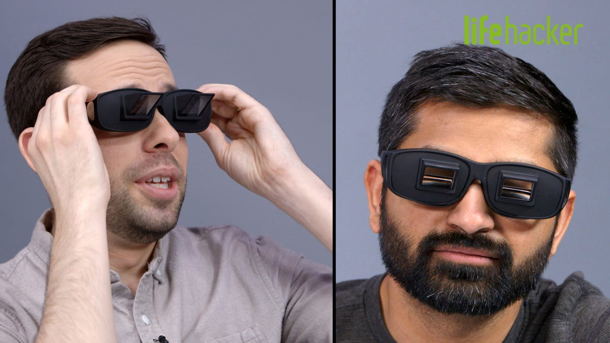 Can These Wacky Reading Glasses Fix Your Neck Pain?