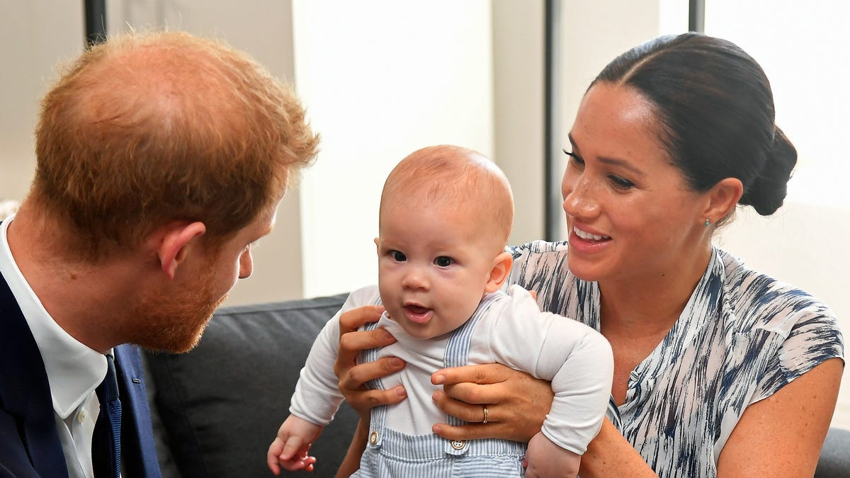 The Royal Baby Is Officially a Ginger