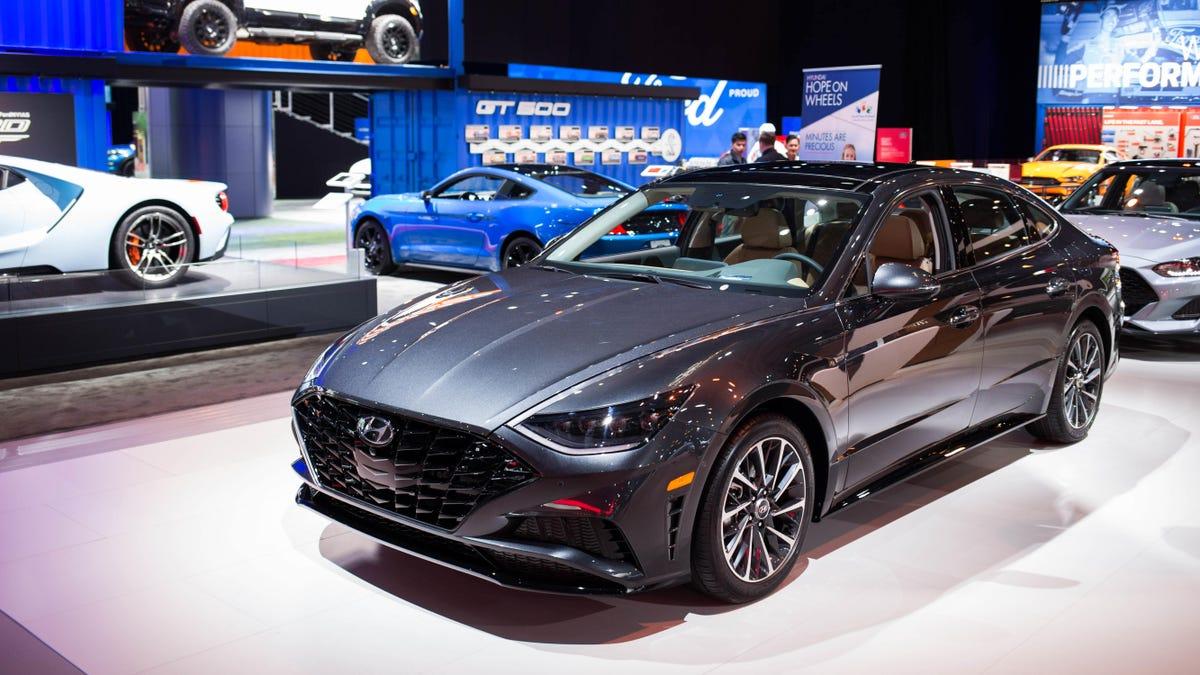 The Gorgeous 2020 Hyundai Sonata Starts At $23,400
