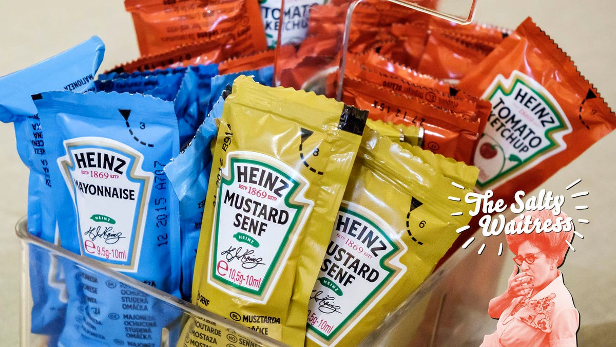 Ask The Salty Waitress: Can I take the extra condiment packets from restaurants?