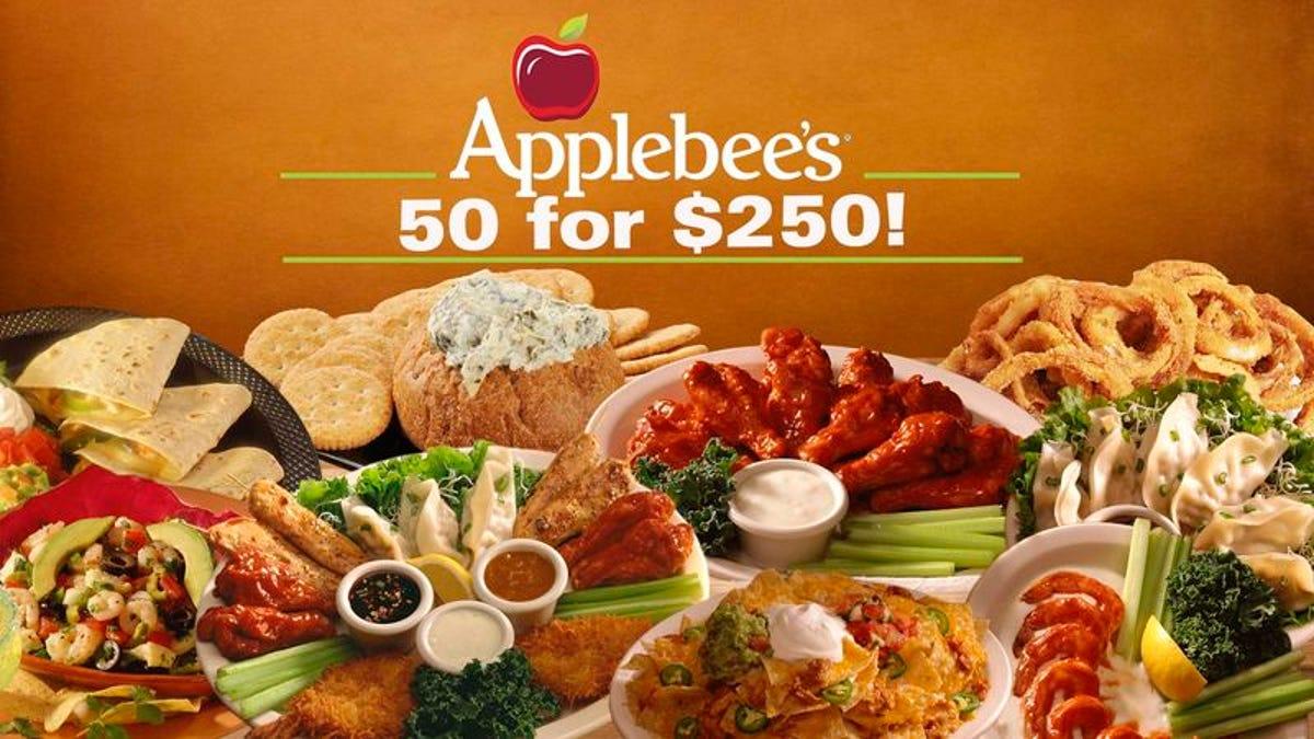 applebees appetizers deals