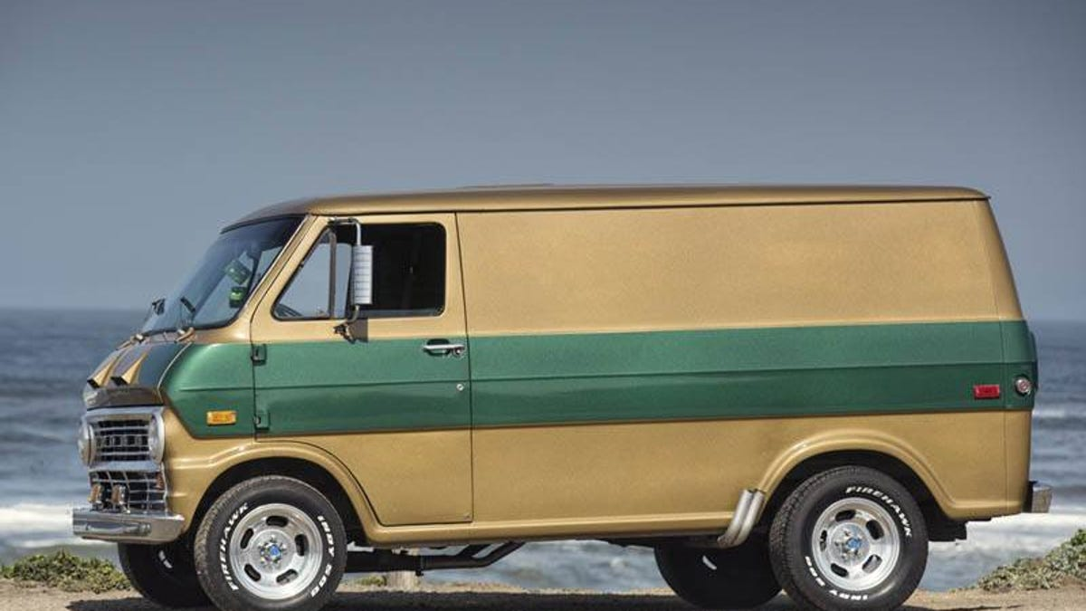 This Ford E100 Van Is A Surf Bum With A Serious Side