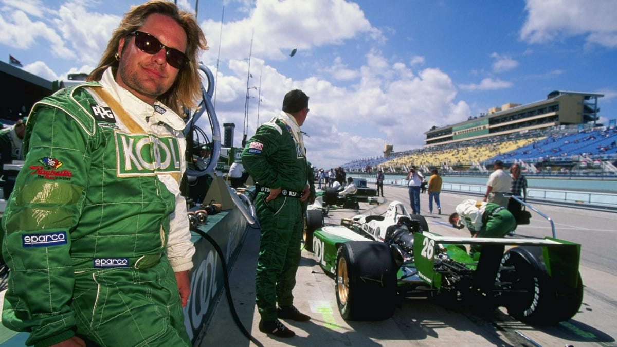 I Can't Believe No One Told Me Mötley Crüe Singer Vince Neil Had An Open-Wheel Racing Career