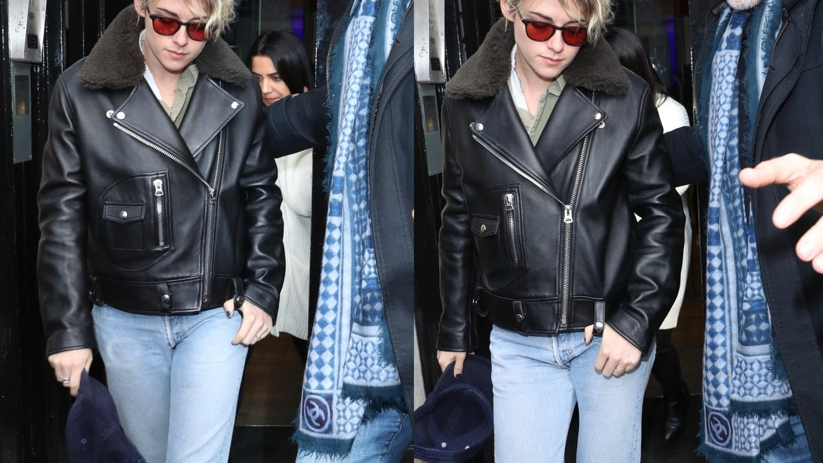 How Weird, Kristen Stewart and I Are Wearing the Same Outfit