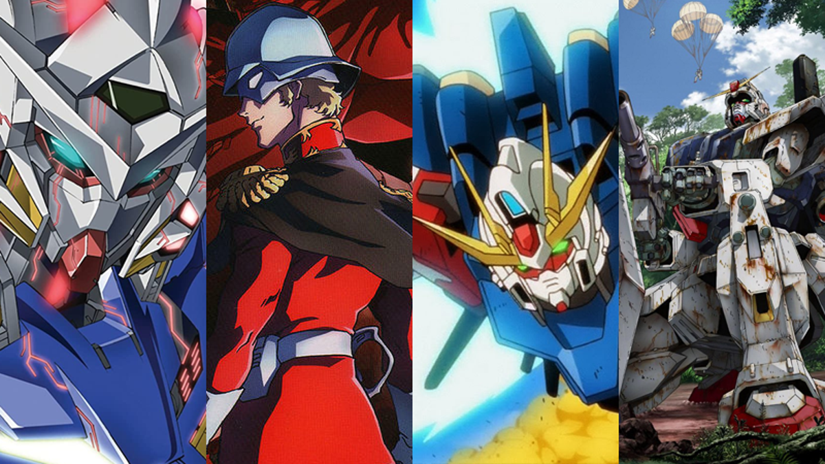 10 Great Places to Start Watching Mobile Suit Gundam