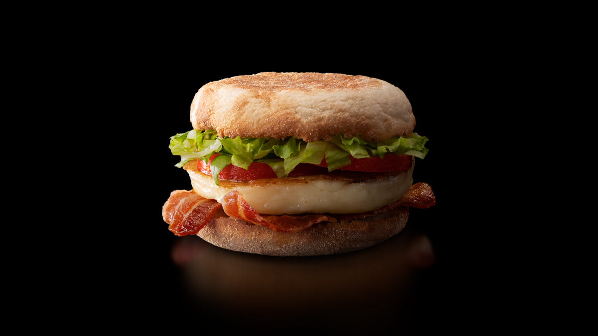 The Halloumi McMuffin is here (but you can only get it at one McDonald's in the U.S.)