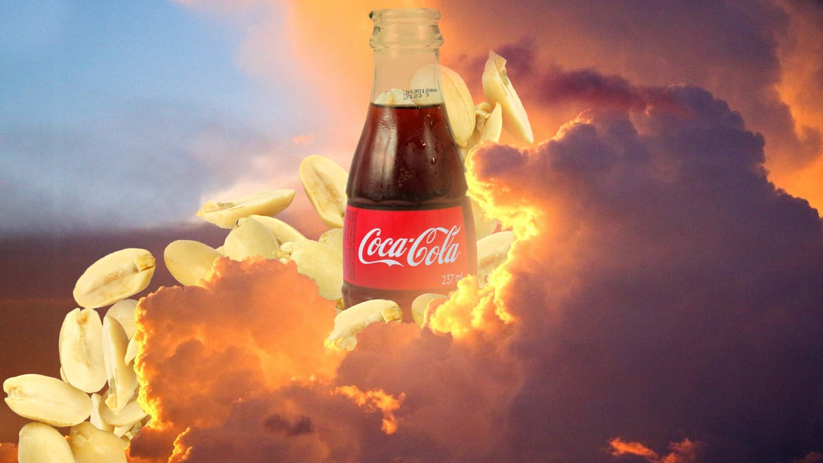 Peanuts and Coke is a delicious Southern combination